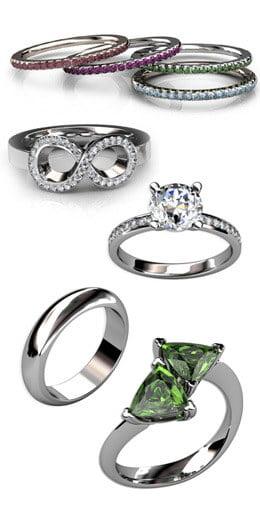 Designa egna ringar