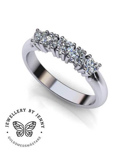 hjärtslipade diamanter