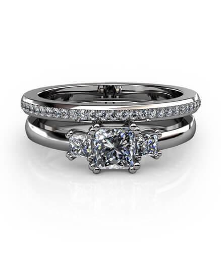 exklusiv diamantring