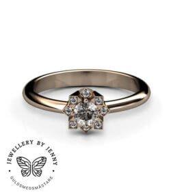 förlovning diamantring