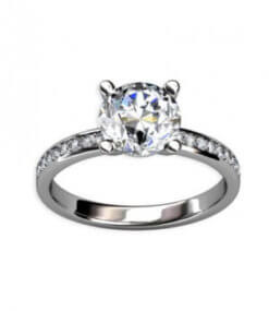 diamantring-förlovning