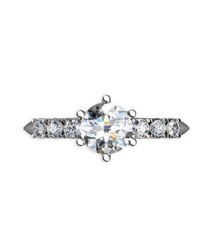 vacker diamantring