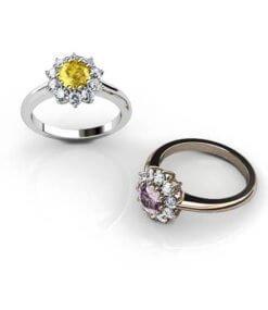 förlovningsring blomma