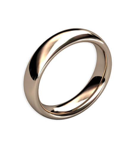 handgjord förlovningsring