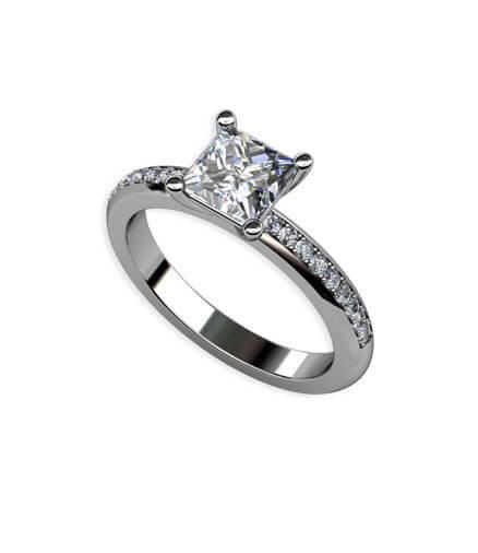 förlovningsring diamant