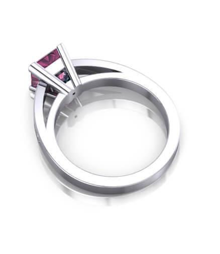 förlovningsringar färgstenar