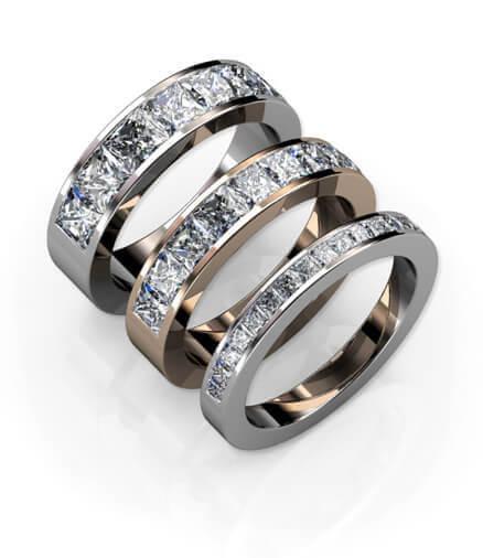 prinsesslipade diamanter