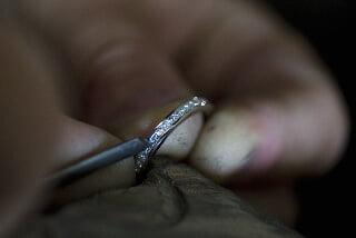 Infattning av diamanter