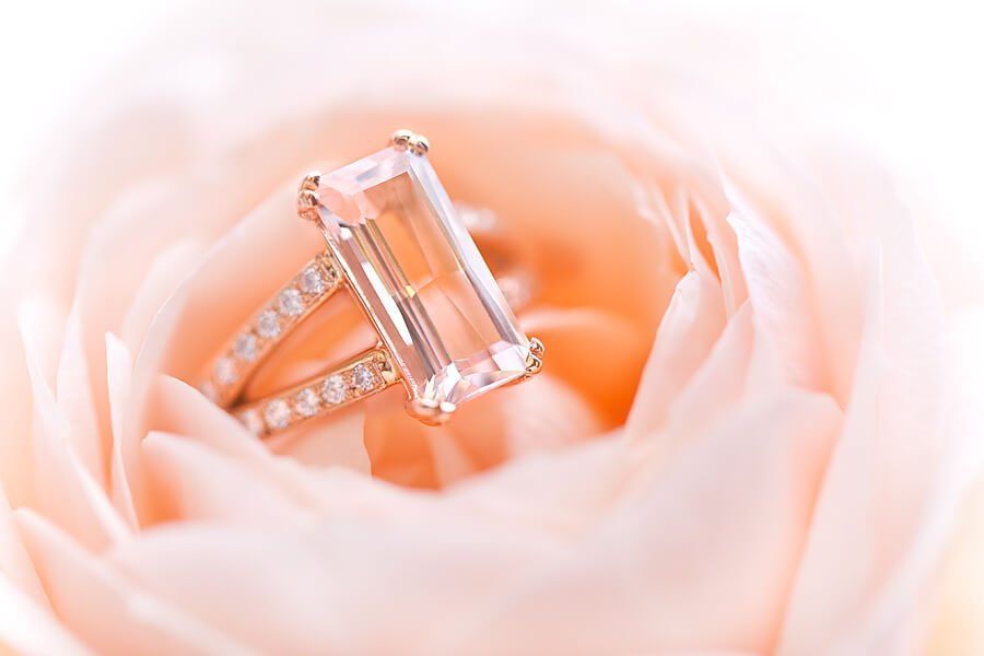 förlovningsring roséguld