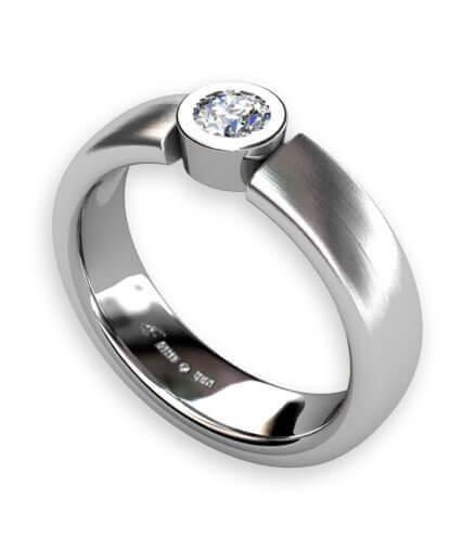 förlovningsringar platina