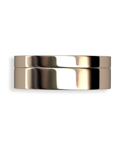 handgjord guldring