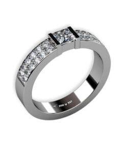 diamantring platina