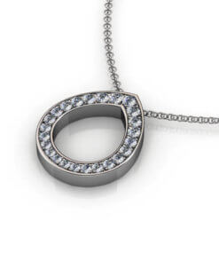 diamanter hängsmycke