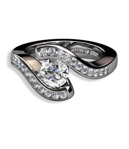 förlovningsringar diamanter