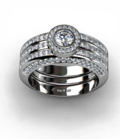 diamantring förlovningsring