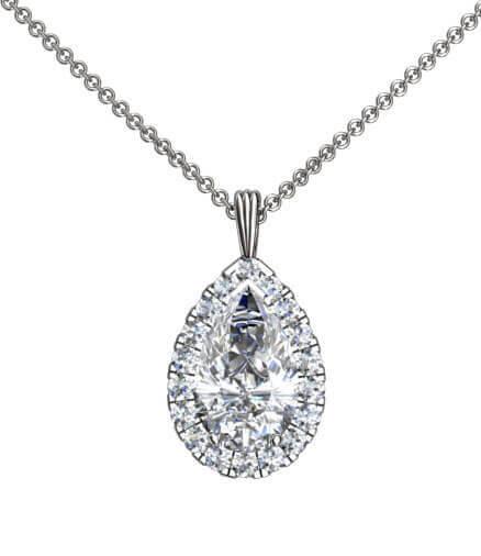 diamant hängsmycke