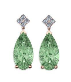 örhängen diamanter