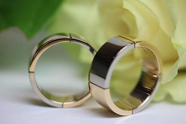 släta förlovningsringar