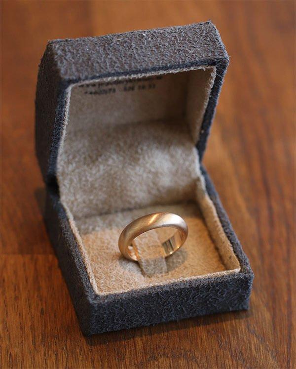 slät förlovningsring