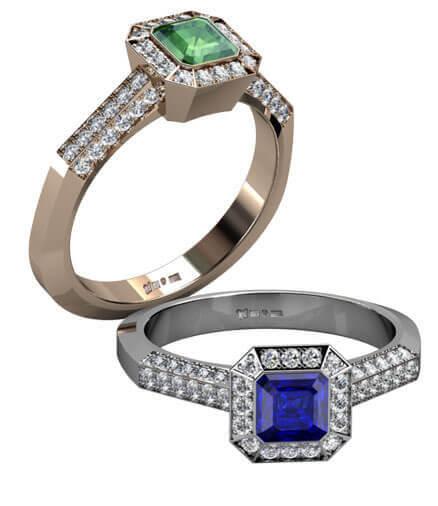 Vintage inspirerade ringar