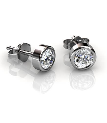 enstensörhängen diamanter