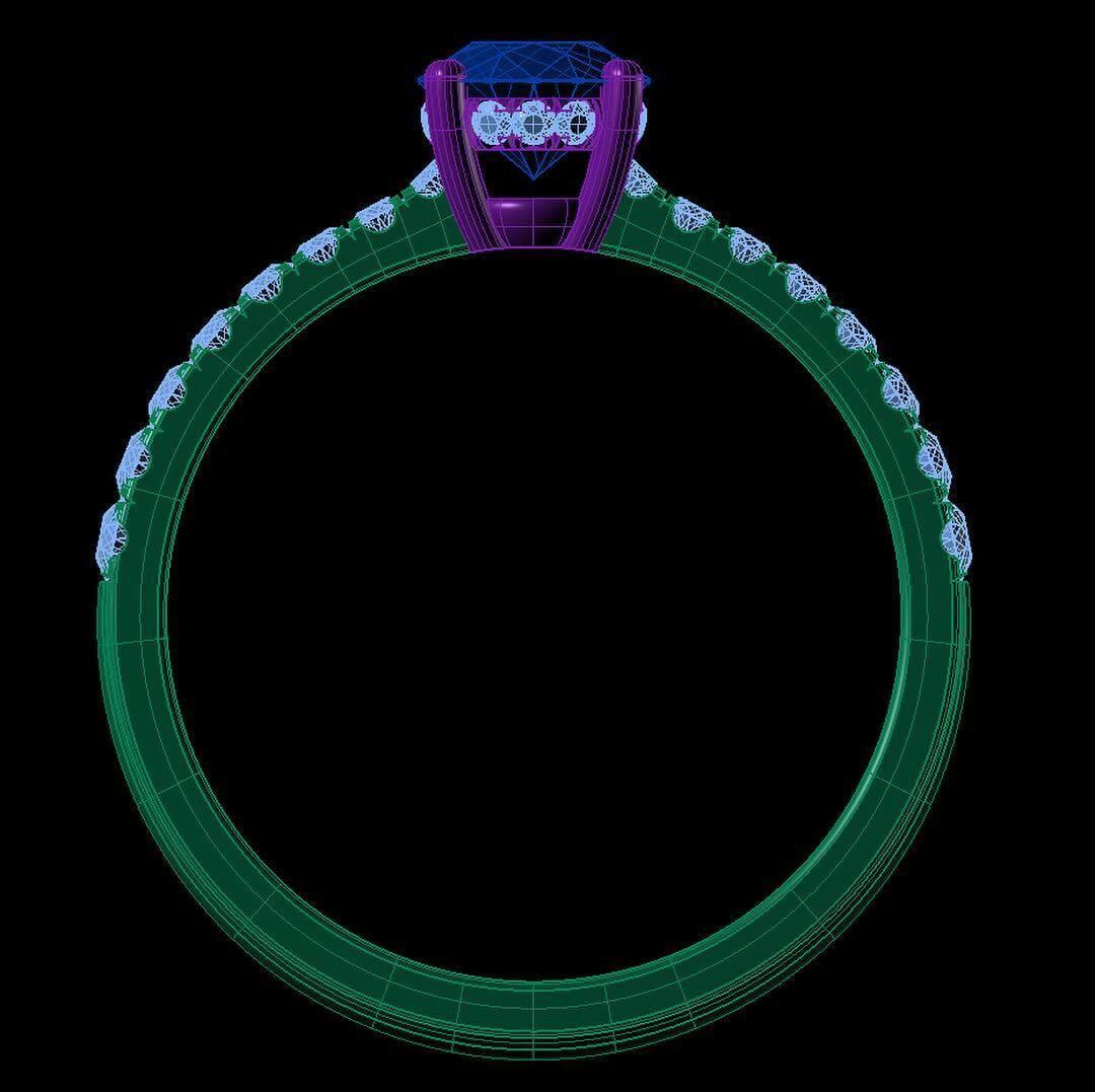 Designa egen ring CAD