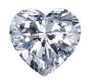 hjärtslipad-diamant