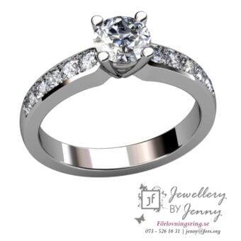 förlovningsringar diamant