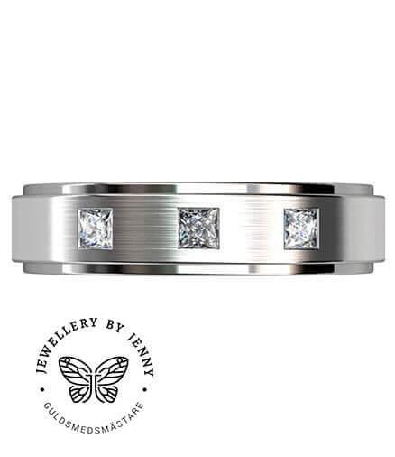förlovningsringar män diamanter