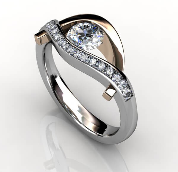 diamantring kärlekens öga