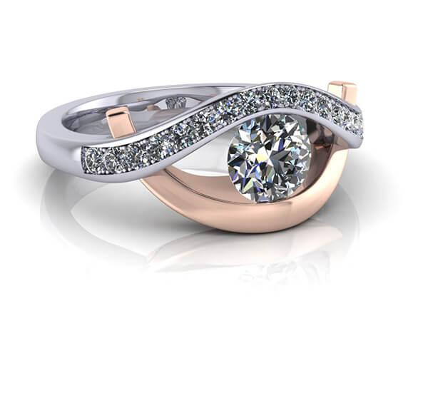 Kärlekens öga diamant